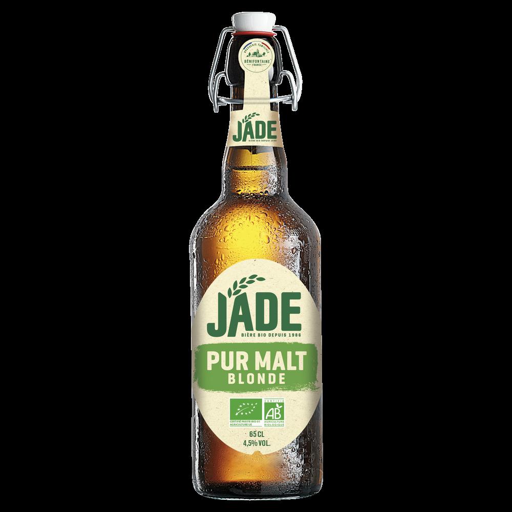 Jade bière blonde BIO, 4,5° (65 cl)
