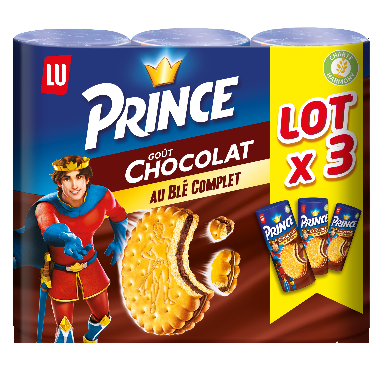 Biscuit Prince au Chocolat, Lu (3 x 300 g)