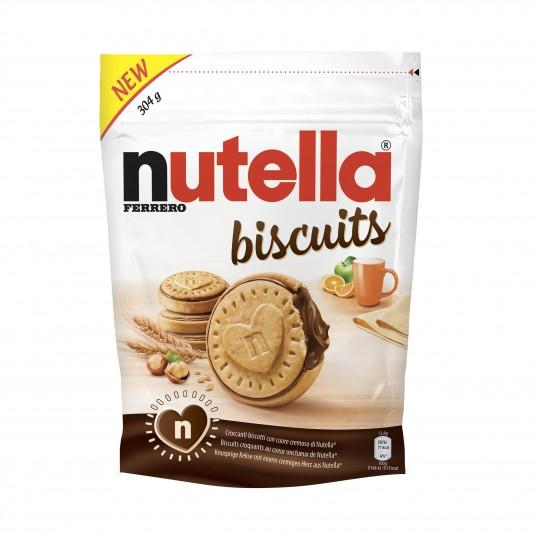 Biscuits Fourrés au Nutella (x 22, 304 g)