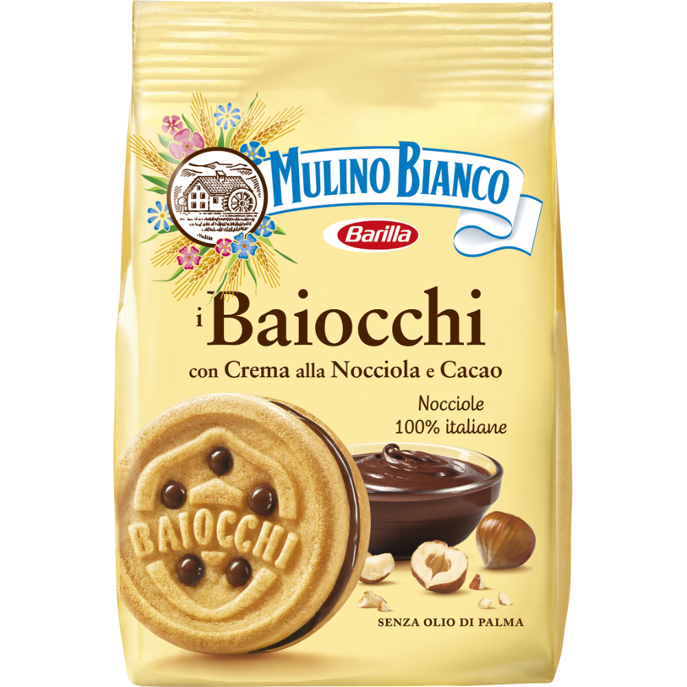 Biscuits Baiocchi Nocciola, Mulino Bianco (260 g)