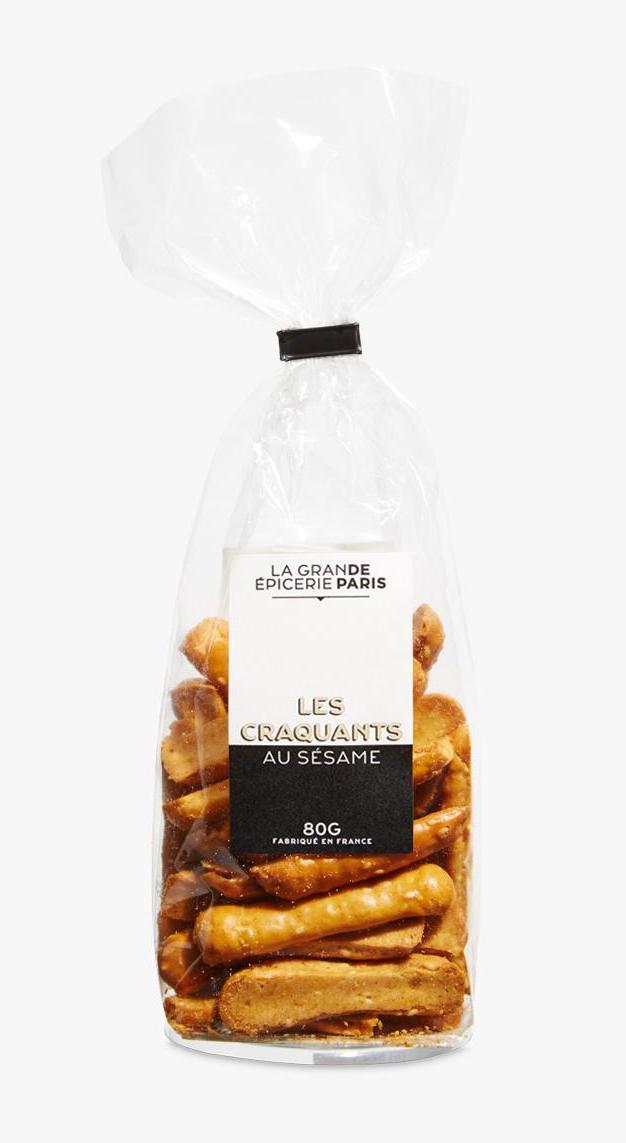 Biscuits craquants aux graines de sésame, La Grande Epicerie de Paris (80 g)