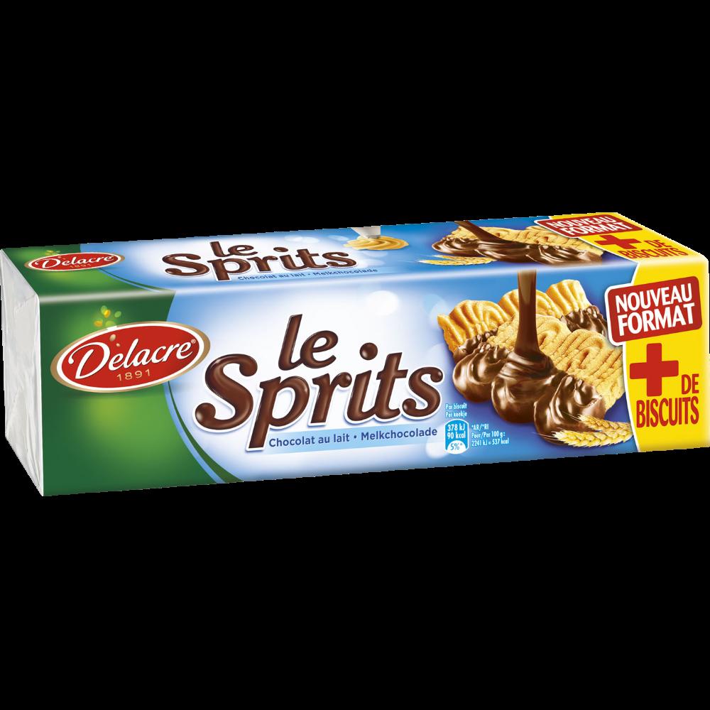 Sprits chocolat au lait, Delacre (200 g)