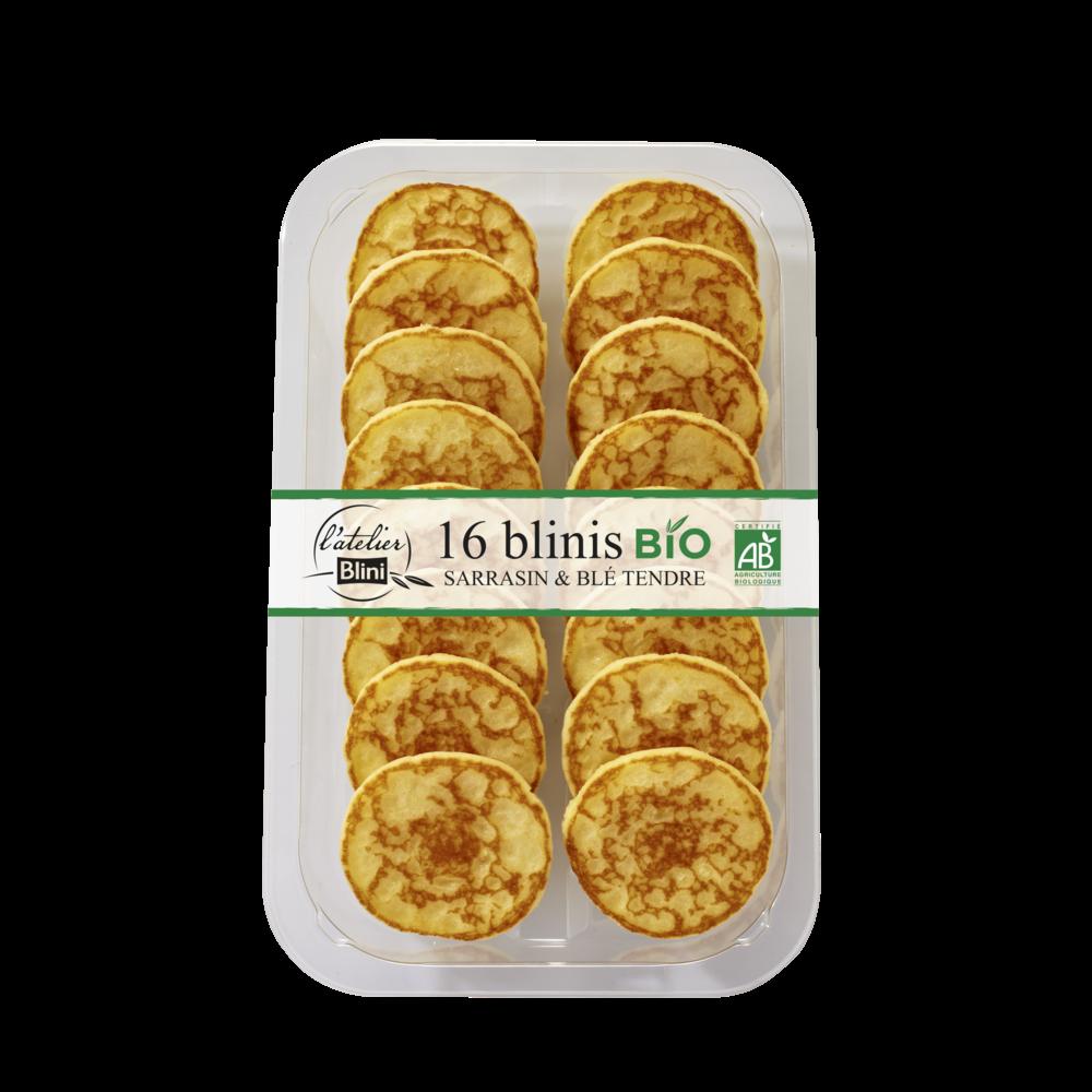 Mini blinis BIO, L'atelier Blini (x 16, 135 g)