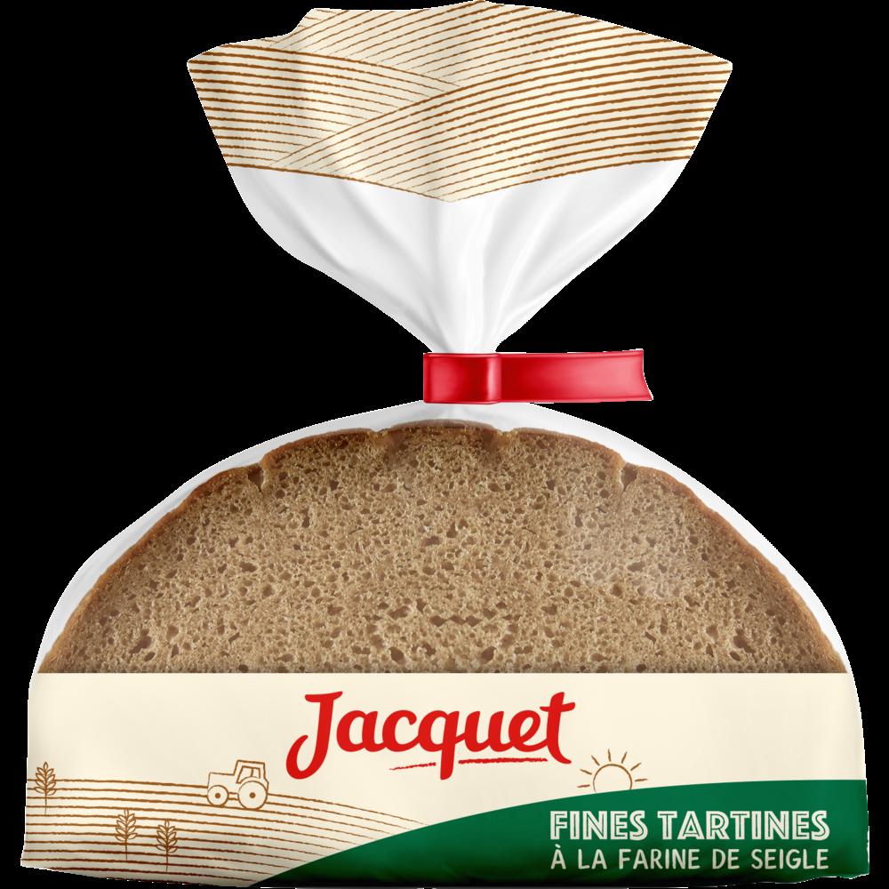 Pain au seigle Bon ap', Jacquet (500 g)