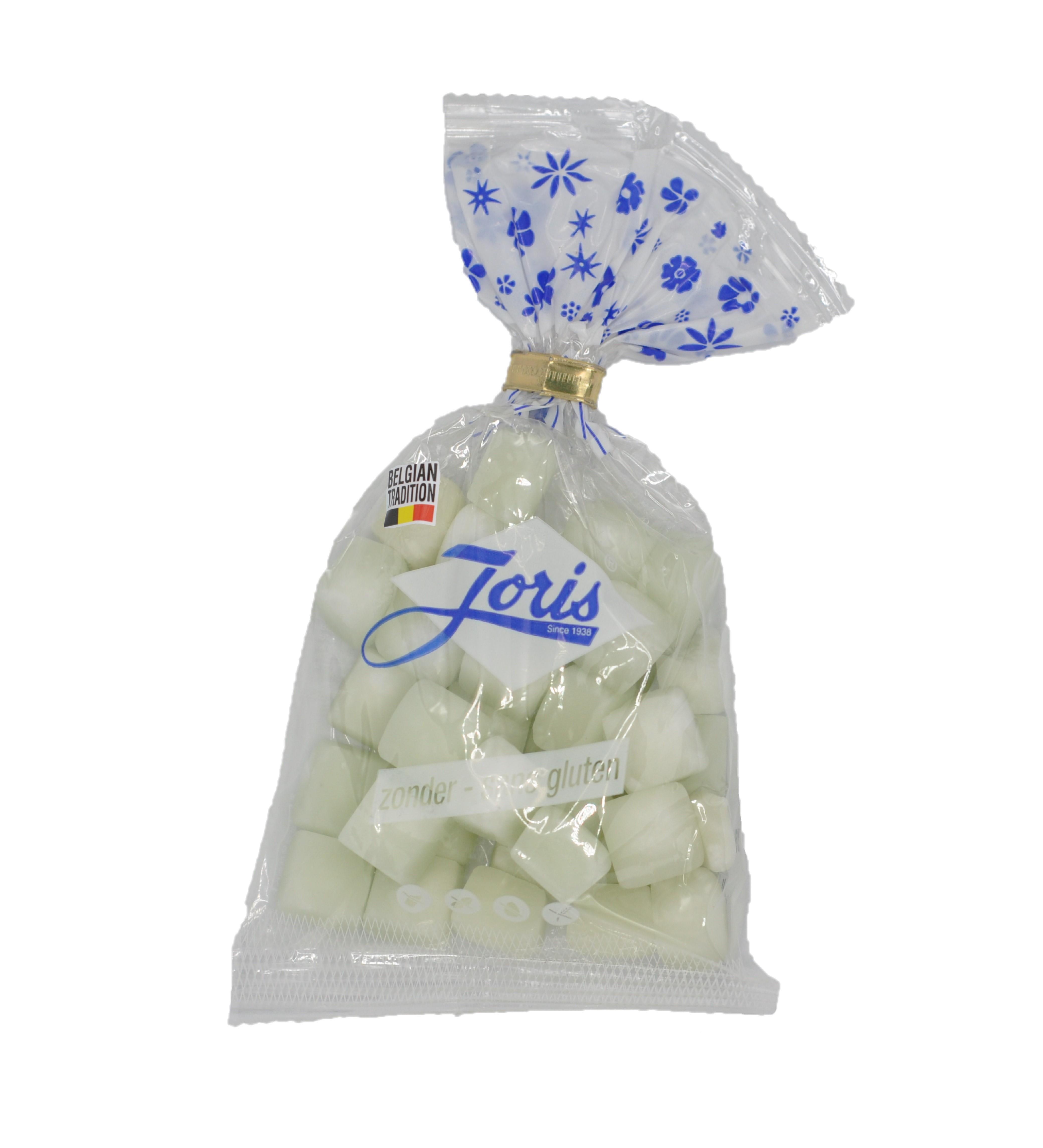 Bonbons Carrés de menthe en sachet, Joris (130 g)