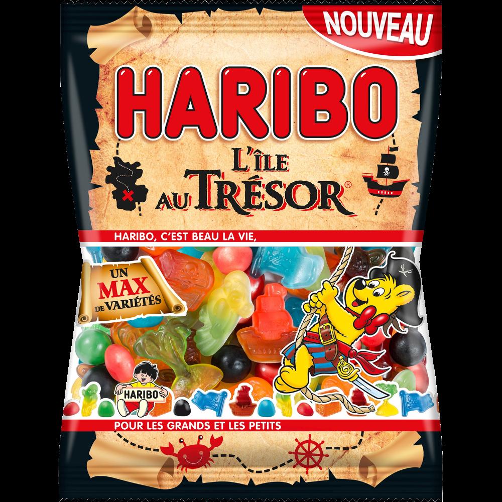 Bonbons L'île au Trésor, Haribo (275 g)