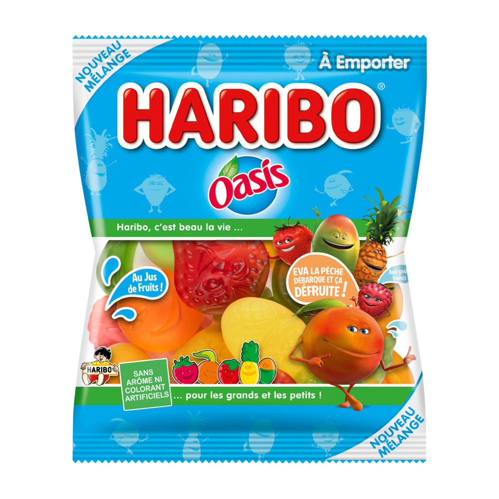 Bonbons Oasis, Haribo (220 g)