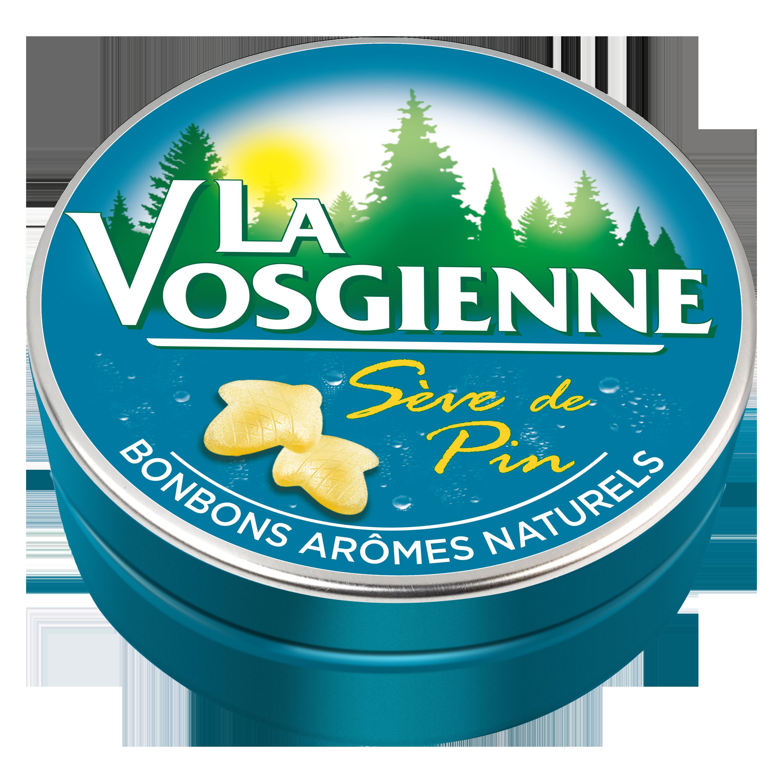 Bonbons sève de pin, La Vosgienne (125 g)