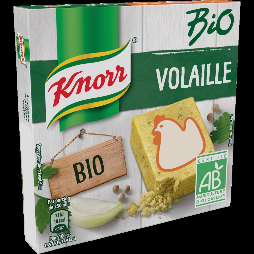 Bouillon de poule BIO, Knorr (x 6, 60 g)