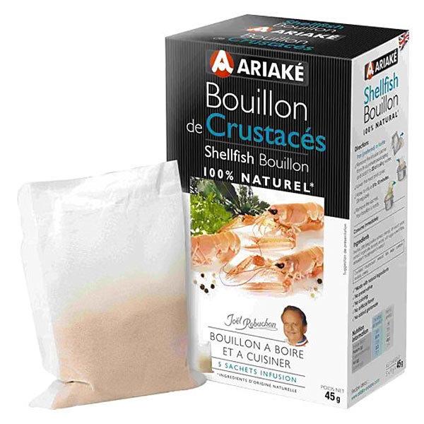 Bouillon de crustacés à infuser, Ariake (5 x 33 cl, 45 g)