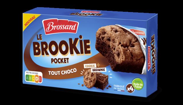 Brookie Pocket tout choco, Brossard (x 4, 184 g)