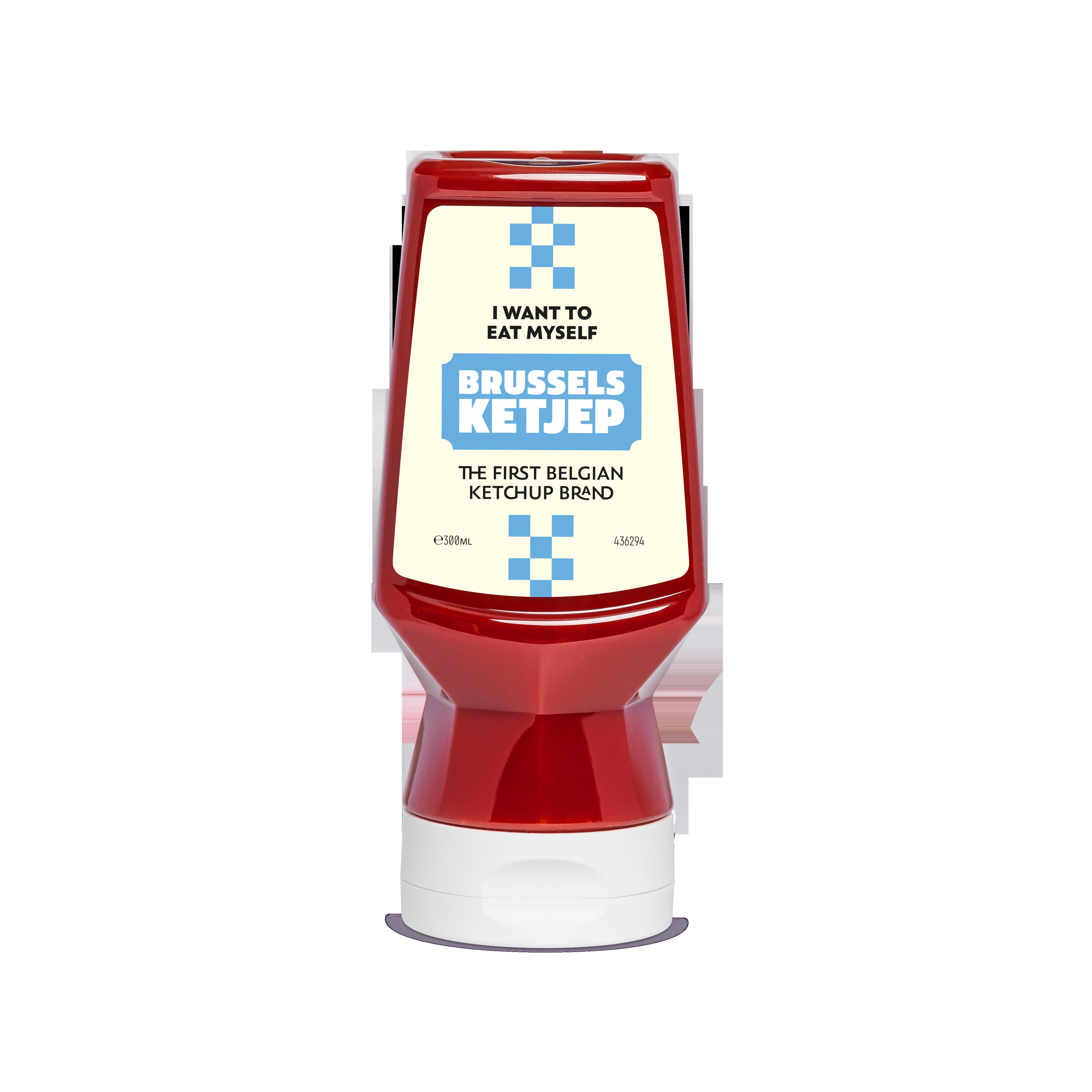 Sauce Ketchup belge, Brussels Ketjep (300 ml)