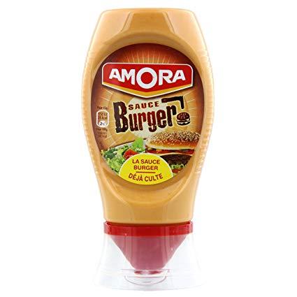 Sauce pour burger flacon souple, Amora (260 g)