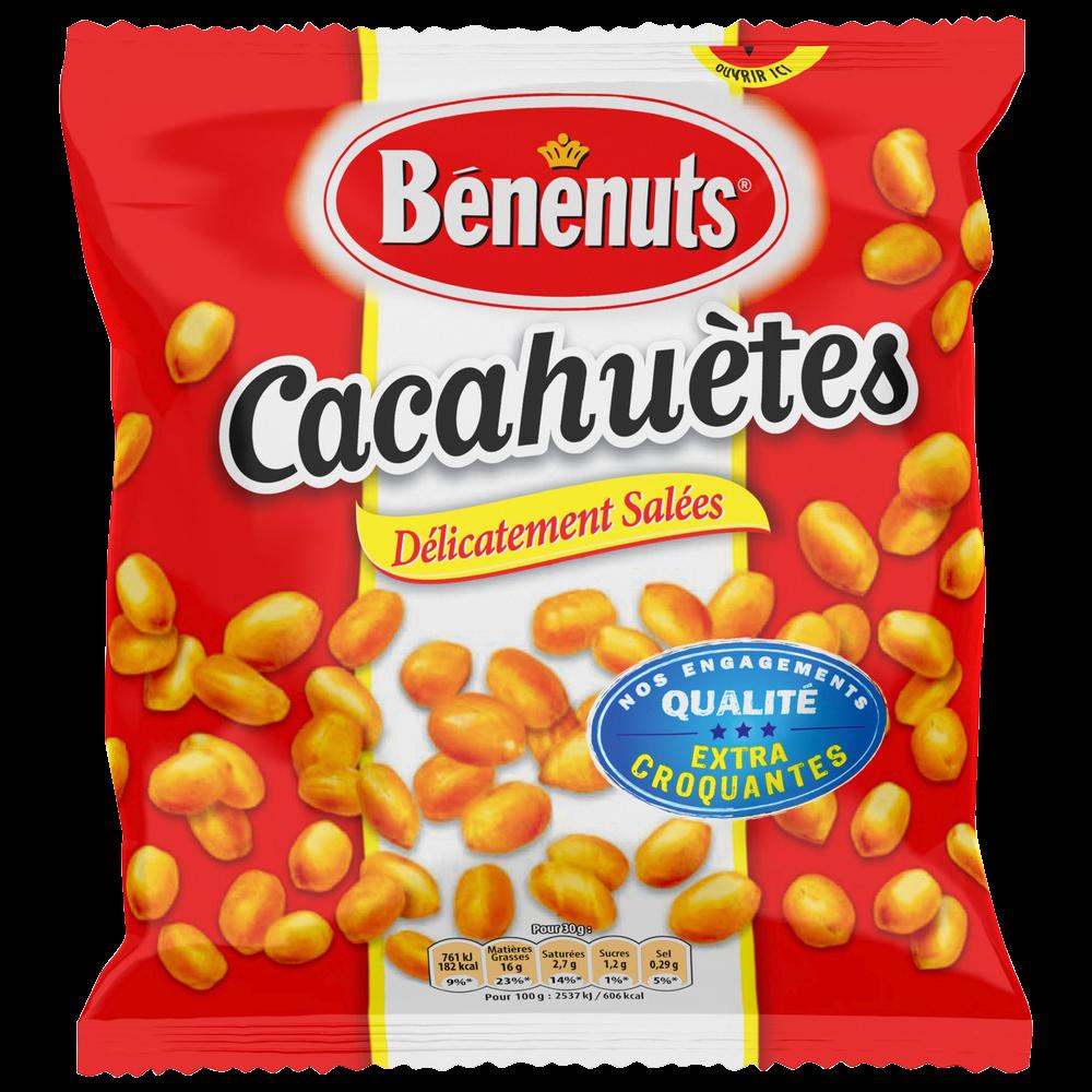 Cacahuètes grillées salées, Bénenuts (410 g)