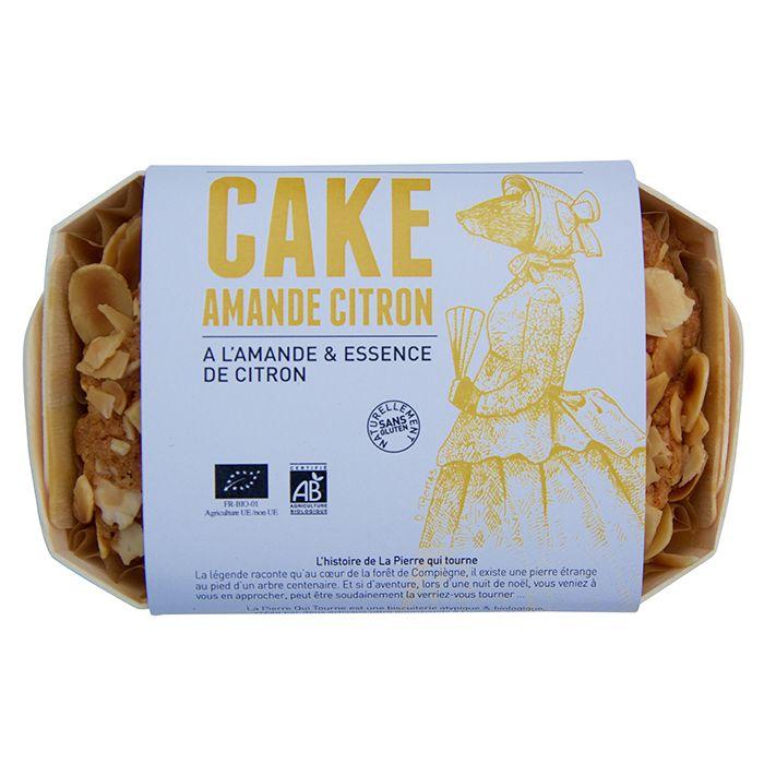 Cake Amande/Citron BIO, La pierre qui tourne (320 g)