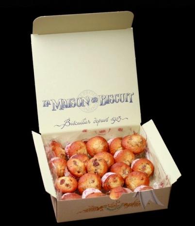Cakes au raisin, La Maison du Biscuit (600 g)
