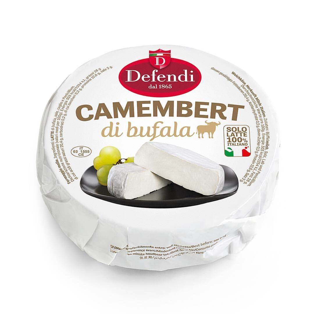 Camembert de bufflonne, Defendi (environ 250 - 280 g)