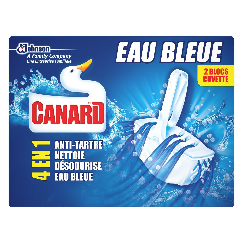 Bloc WC Eau Bleue, canard (x 2)