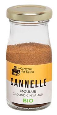 Cannelle moulue BIO, Albert Ménès (25 g)