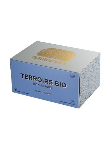 Café capsule Terroirs Bio, Terres de café (x 10)