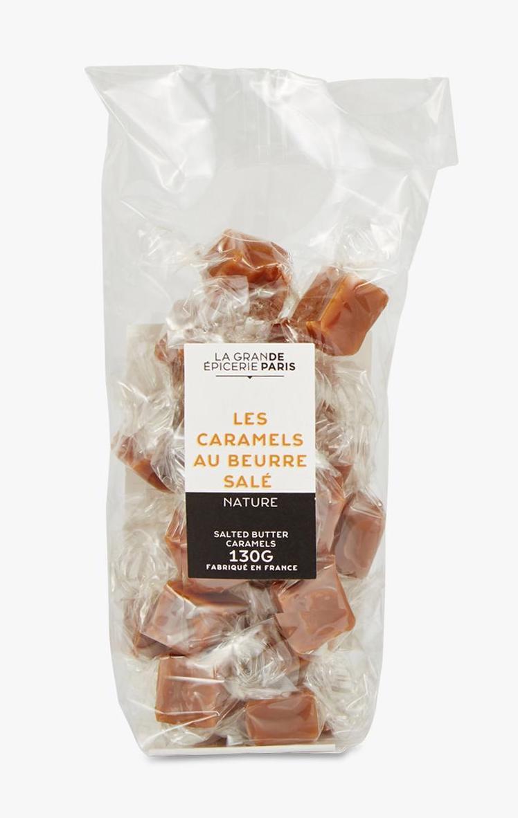 Caramels au beurre demi-sel, La Grande Epicerie de Paris (130 g)