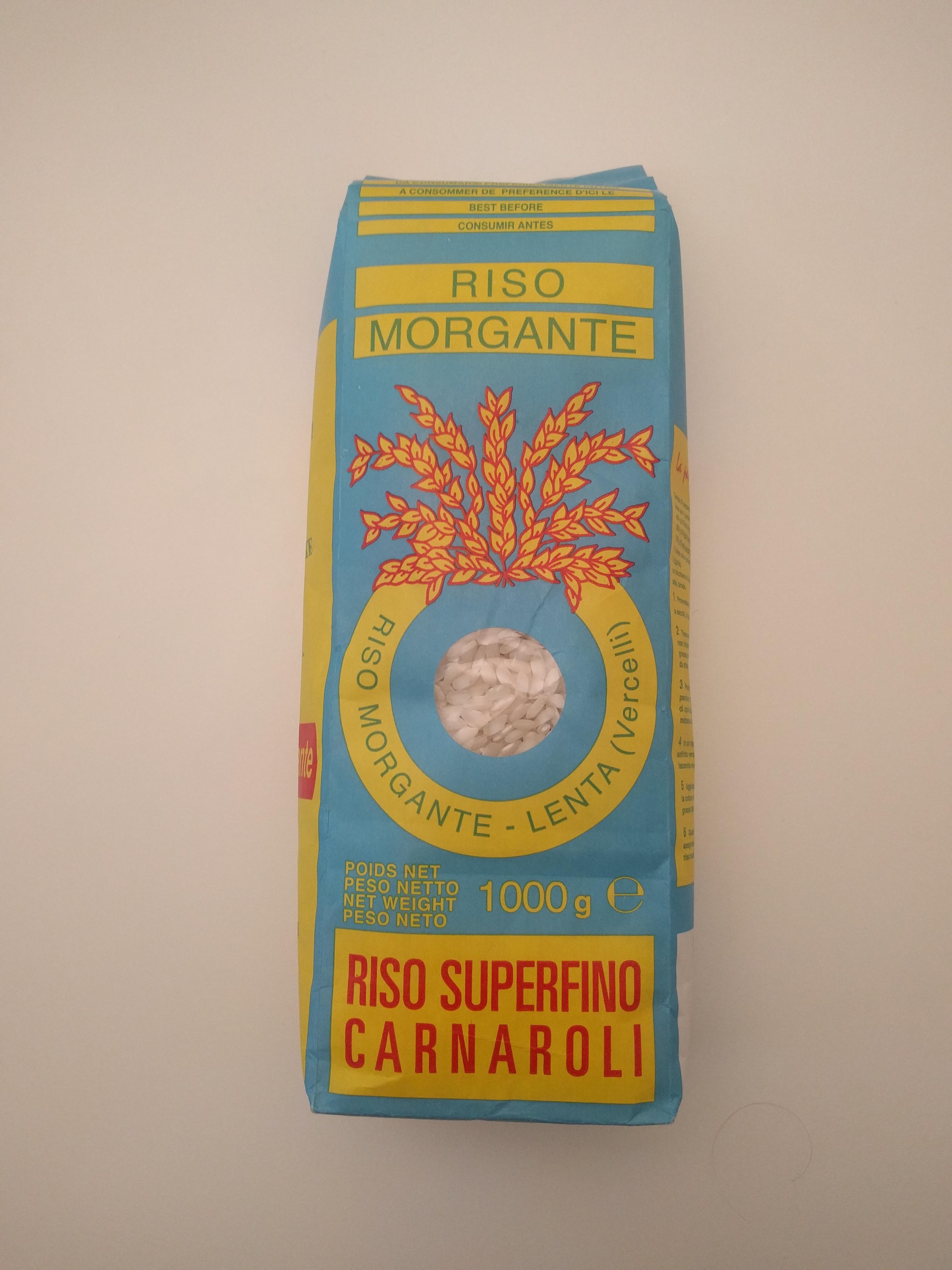Riz carnaroli, Riso Morgante (1 kg)