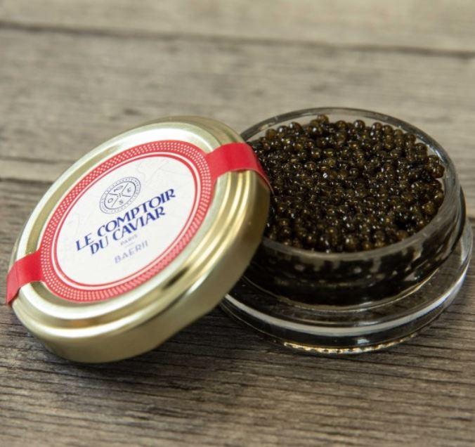 Caviar d'esturgon de Siberie Baerii, Le Comptoir du Caviar (20 g)