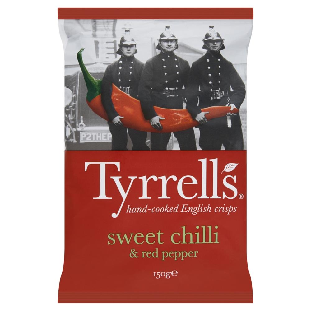 Chips au piment doux, Tyrrells (150 g)