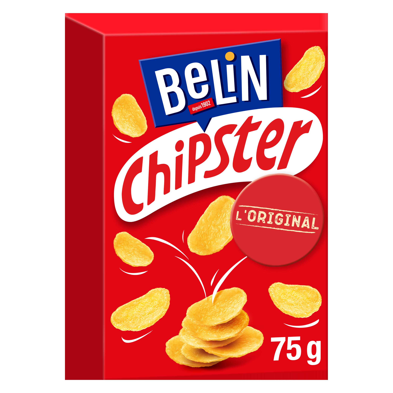 Chipster salés L'original, Belin (75 g)