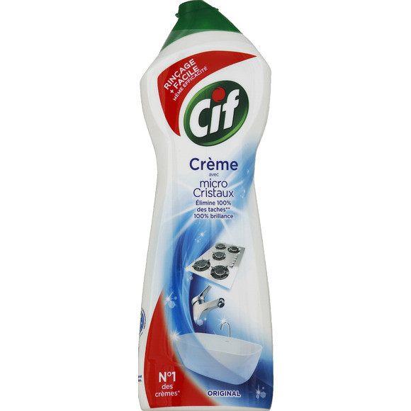 Crème à récurer nettoyant multi surface original, Cif (750 ml)