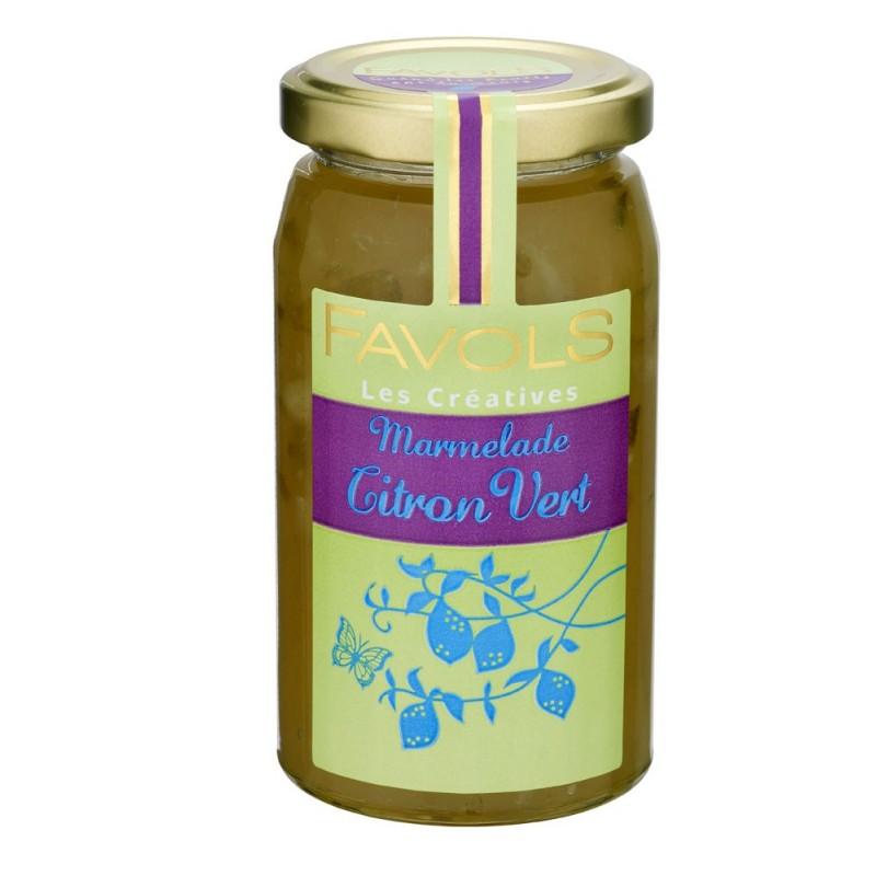 marmelade de citron vert favols 270 g miamtag livraison de produits frais sur paris et. Black Bedroom Furniture Sets. Home Design Ideas