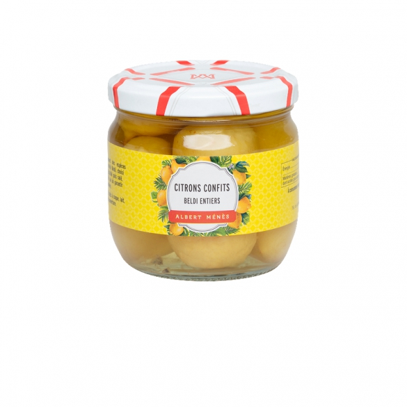 Citrons Confits Beldi Entiers, Albert Ménès (190 g)