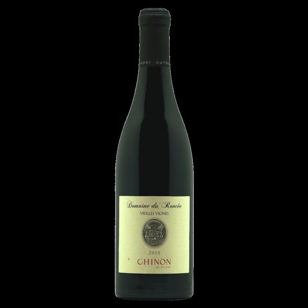 Chinon AOP Domaine du Roncée vieilles vignes 2018 (75 cl)