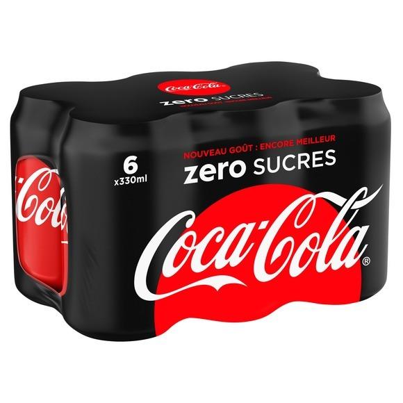 Pack de Coca-Cola Zéro (6 x 33 cl)