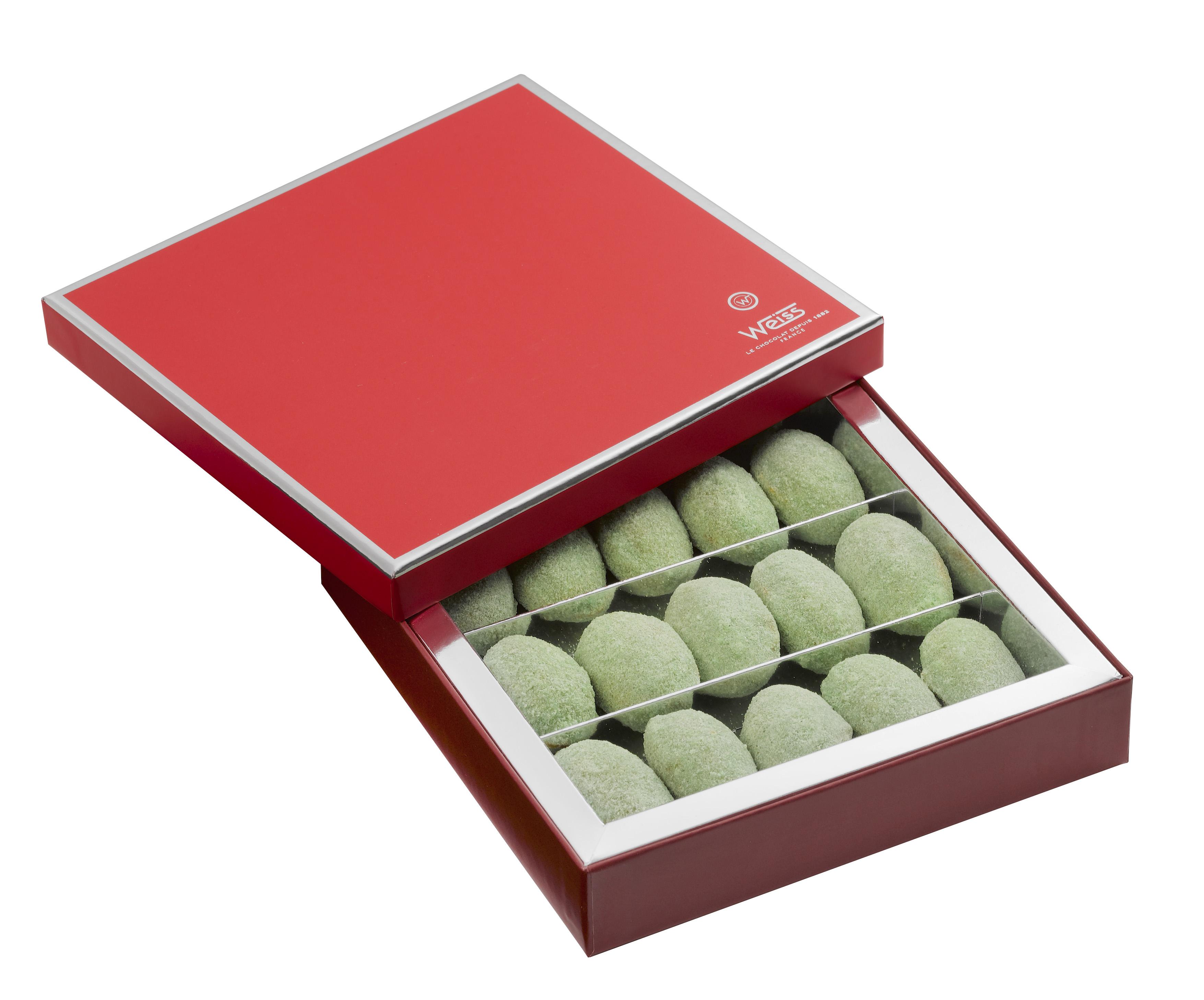 Coffret de Nougamandines, Weiss (x 15 bonbons, 200 g)