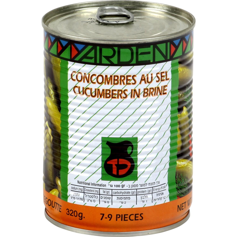 Concombres au sel, Yarden (540 g)