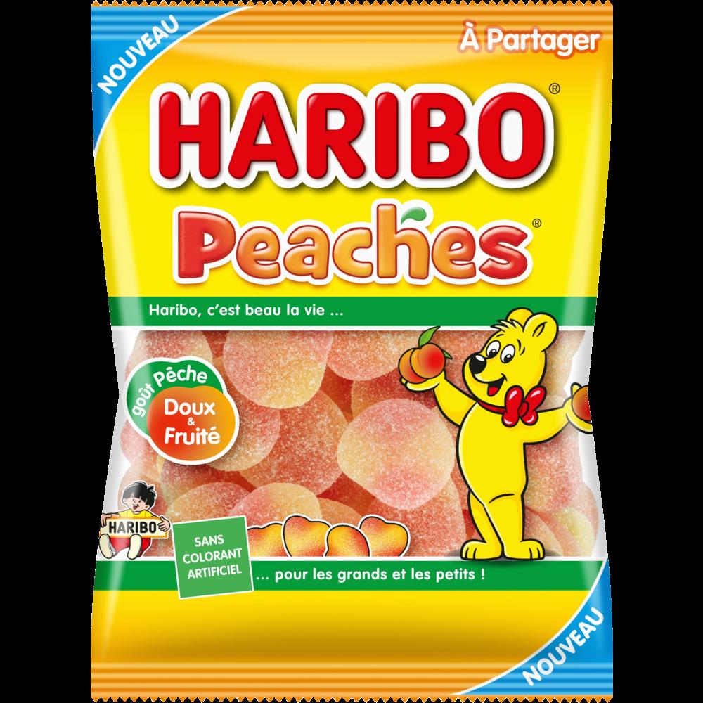 Peaches, Haribo (250 g)