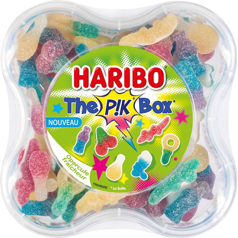 The Pik box, Haribo (550 g)