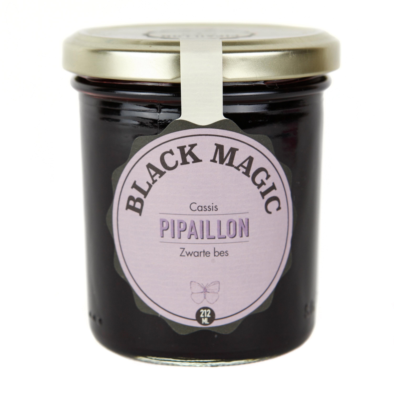 Confiture Black Magic - Cassis BIO, Pipaillon (212 ml)