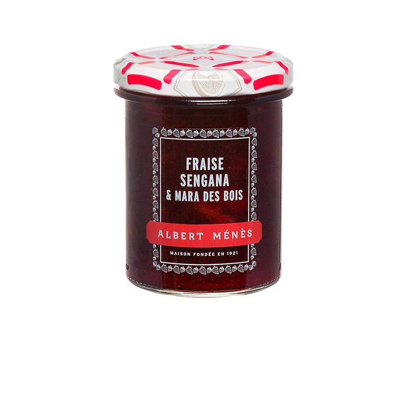 Confiture Extra de Fraise, Albert Ménès (280 g)