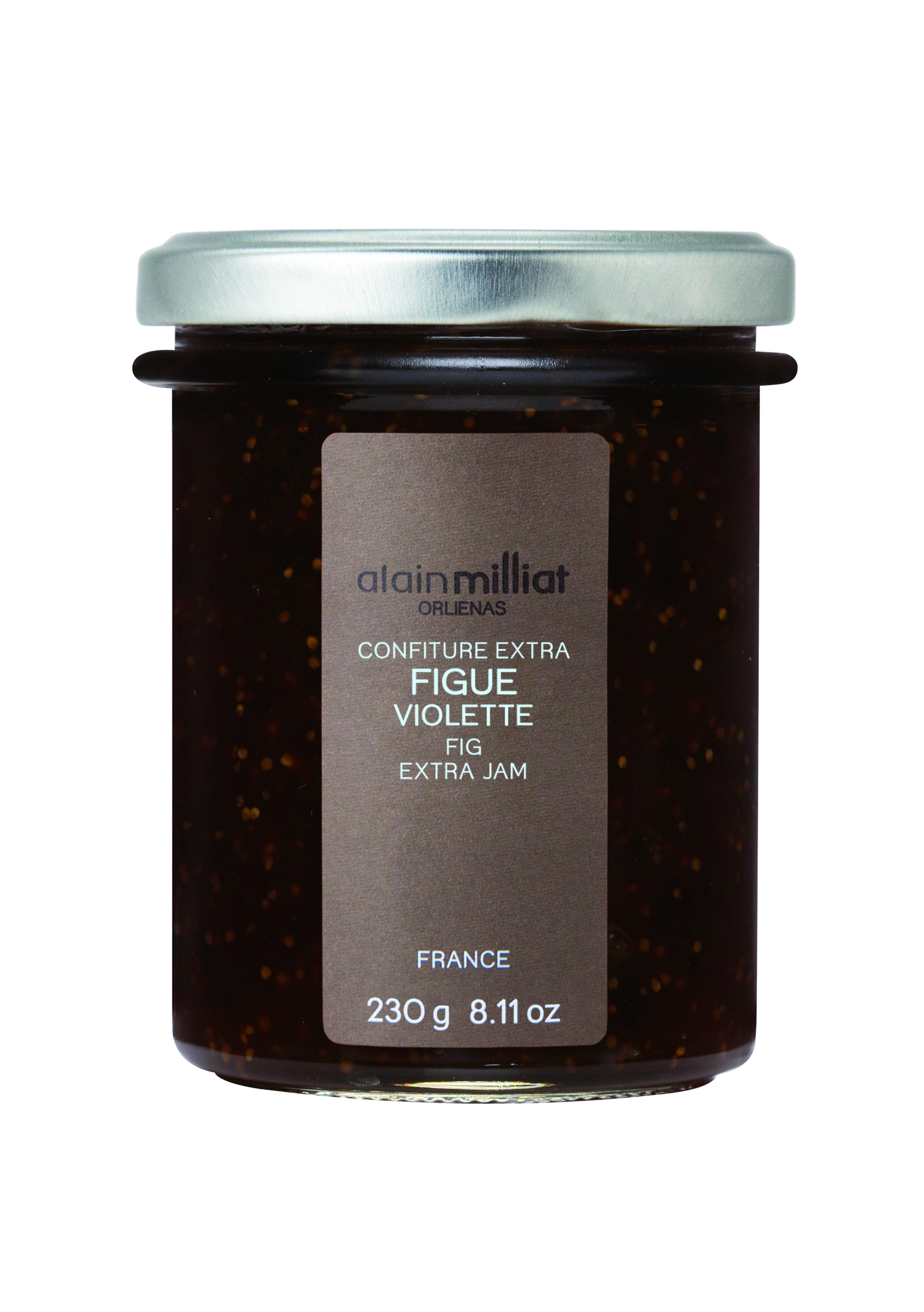 Confiture Extra Figue Violette, Alain Milliat (230 g)