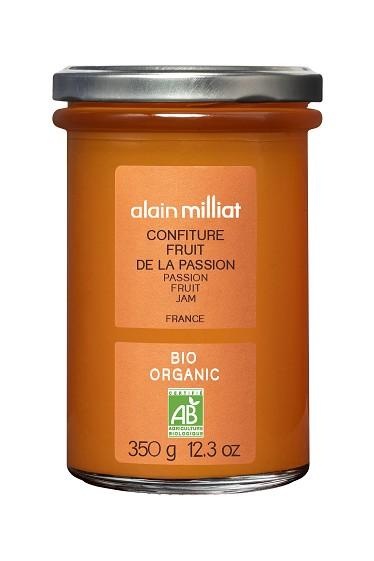 Confiture Extra Fruit de la Passion BIO, Alain Milliat (350 g)