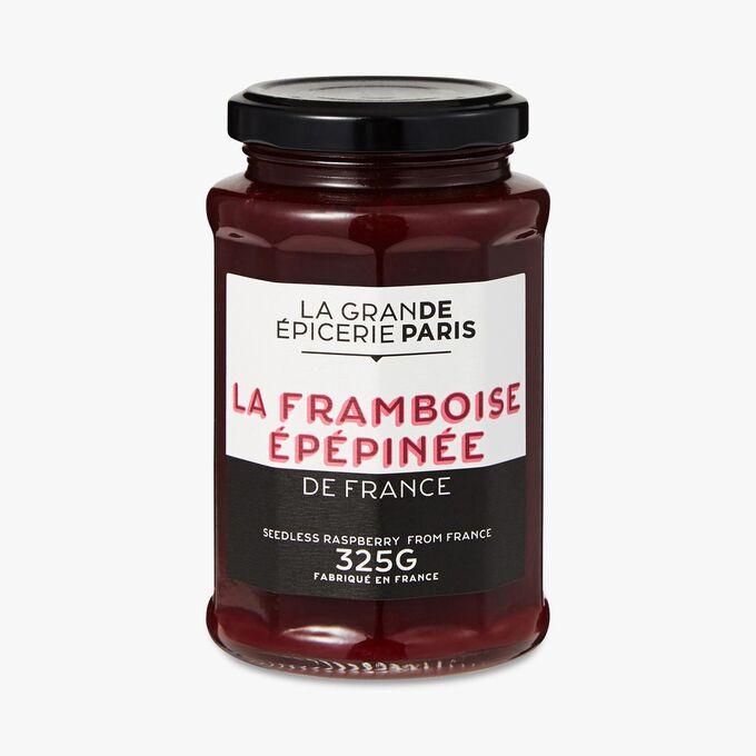 Confiture de framboise sans pépins, La Grande Epicerie de Paris (325 g)