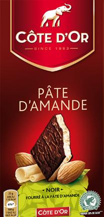 chocolat noir 224 la p 226 te d amande c 244 te d or 150 g la vie grande 233 picerie et fraiche