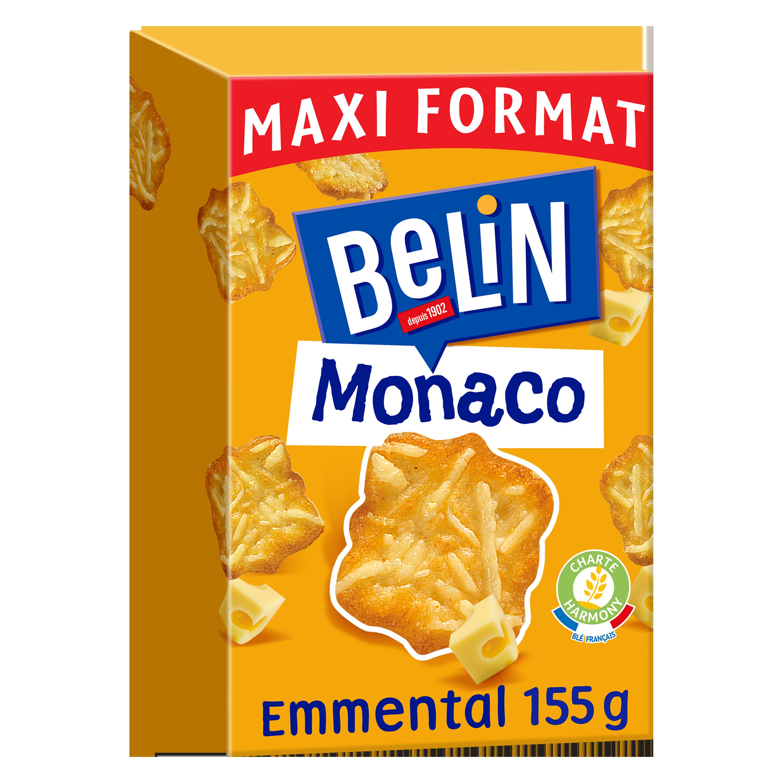 Crackers Monaco Emmental, Belin (155 g)