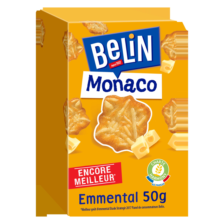 Crackers Monaco Emmental, Belin (50 g)