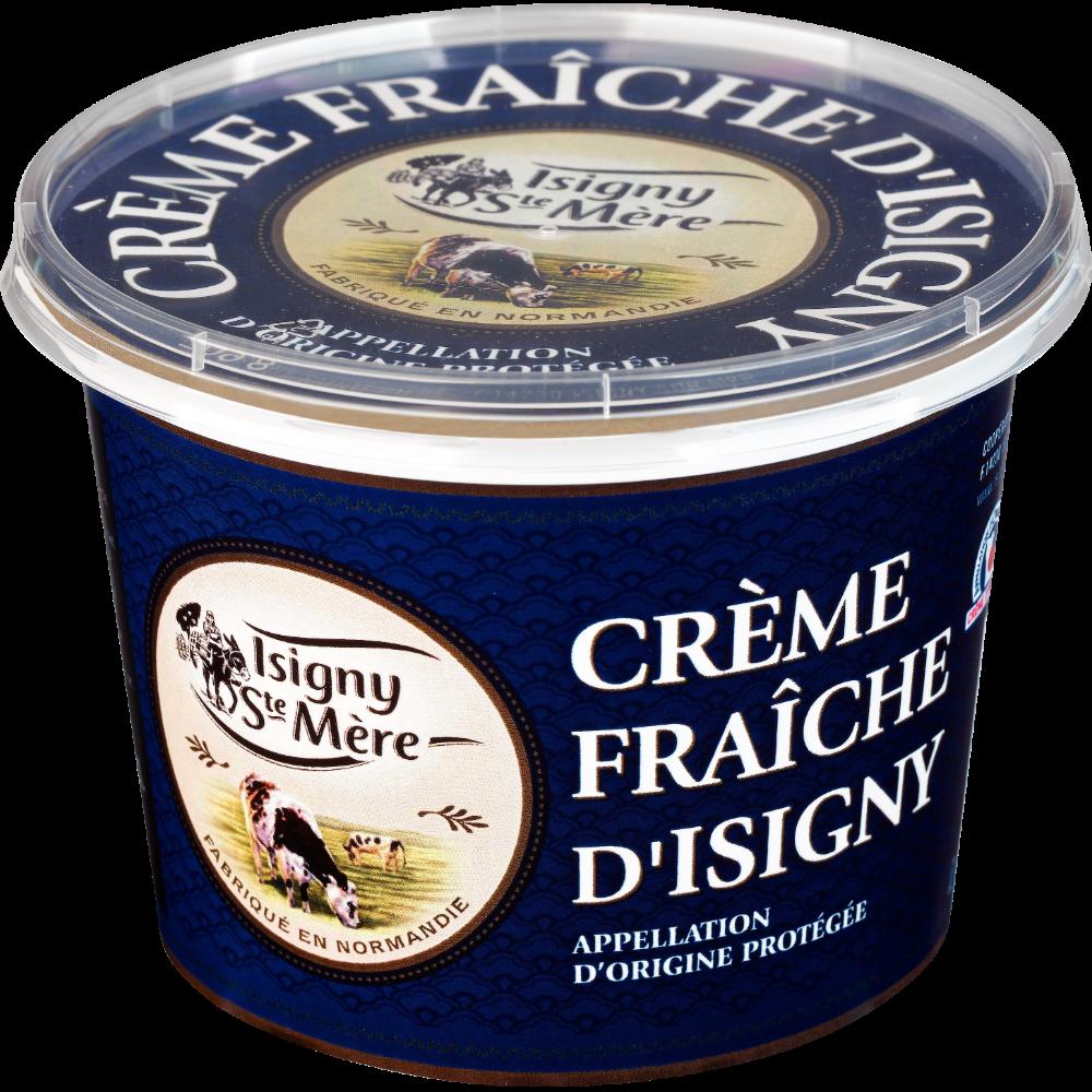 Crème fraîche épaisse 35% MG, Isigny Sainte Mère (50 cl)