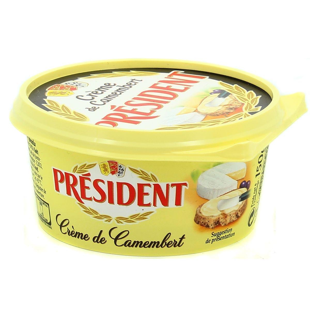 Crème de Camembert, Président (150 g)