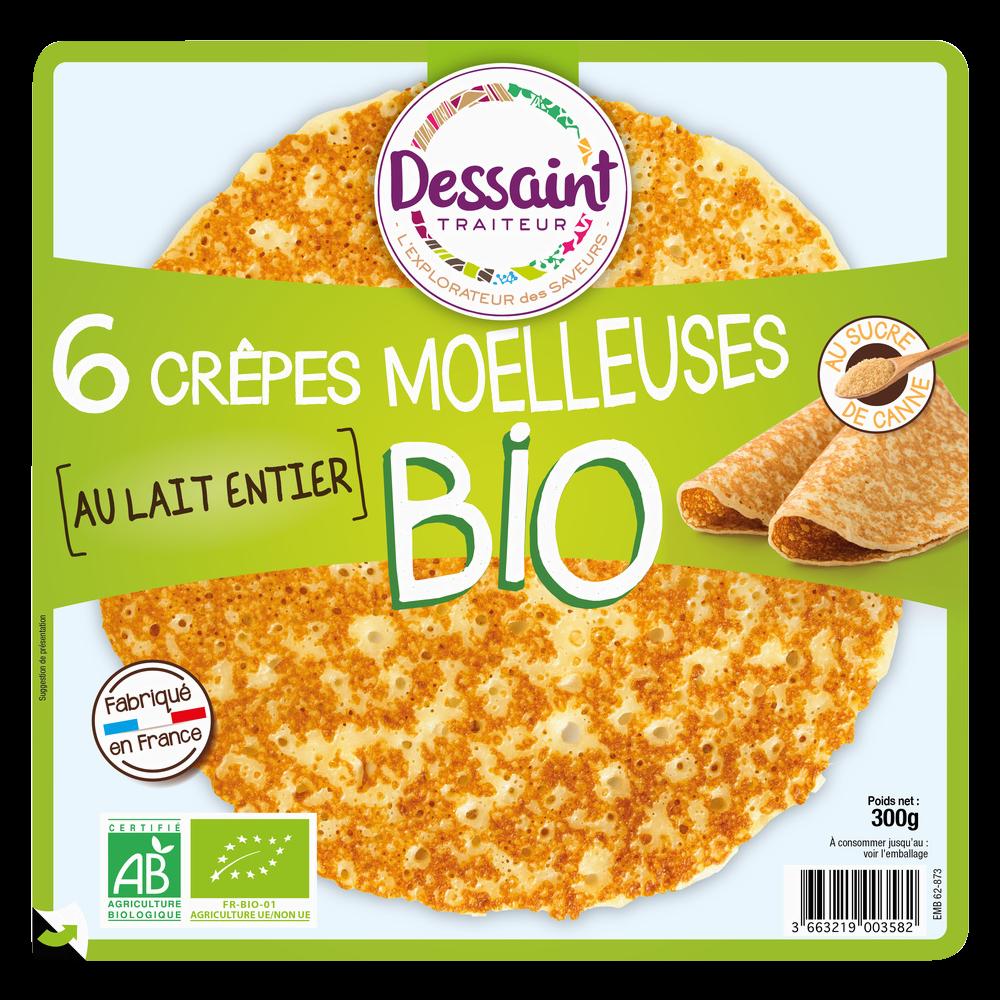 Crèpes au sucre de cannes BIO, Daniel Dessaint (x 6, 300 g)