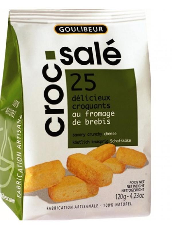 Croc salé fromage, Goulibeur (120 g)